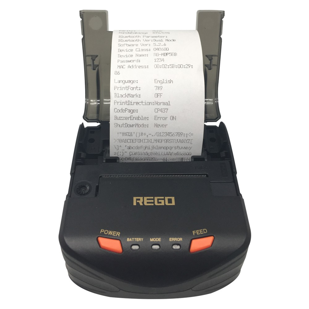 Portable Dot Matrix Receipt Printer RG-MDP58C